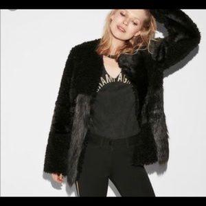Express Teddy Jacket coat